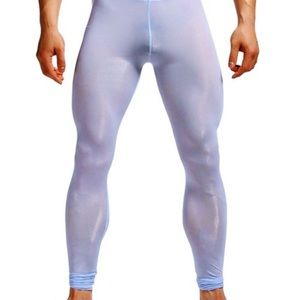 Pants - Men's Sheer Fitted Lounge Pant